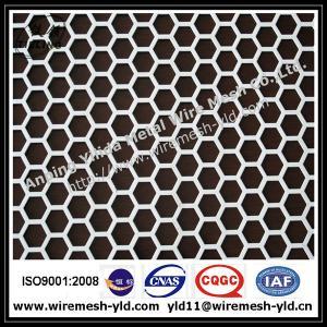 Aluminum hexagonal perforated metal Manufactures