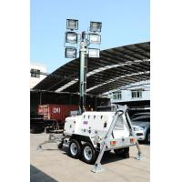 H1000 Mobile Light Tower generator/diesel generator with YND485 Manufactures