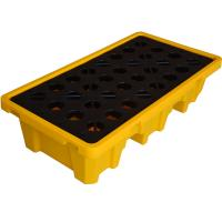 Buy cheap Plastic Secondary Containment Low Profile 2 drum storageSpill Containment from wholesalers