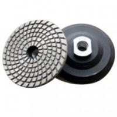 Buy cheap Metal Bond Flexible Diamond Polishing Pads , Granite Polishing Pads For Hard from wholesalers
