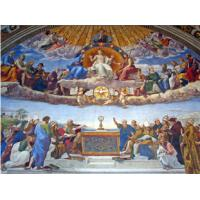 China High Glossy Surface Decorative Acoustic Ceiling Panels Bible Painting on sale