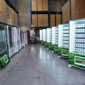Drink Vending Machine Vending Automatic Smart Automatic Food Candy Snack Drink Manufactures