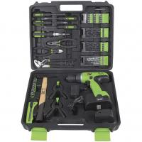 Buy cheap 12v 14.4v 18v Electric Power Drill Set / Cordless Drill Kits with Screwdrivers from wholesalers