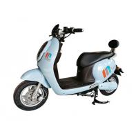 Cute Rear Backrest Electric Moped Scooter For Adults With LED Headlight Manufactures