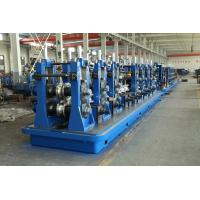 Large Size SS Tube Mill Machine , Rectangular Pipe Roll Forming Mill Manufactures