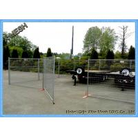 China Canada 6FT*9.5FT Temp Security Fencing , Durable Temporary Fence Panel, temporary site fencing on sale