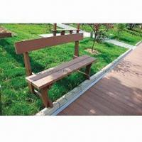 Outdoor Park Benches with Look of Natural Wood Manufactures