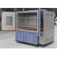 Cheap LCD Touchscreen Control Double Open Door Climatic Test Chamber With RS485 Ports for sale