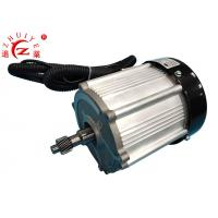 Permanent Magnet Synchronous Electric Motor , 1.8KW 60V Geared Electric Motors Manufactures