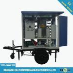 Long Time Running Transformer Oil Purifier Machine , Vacuum Oil Purifier 6000LPH Manufactures