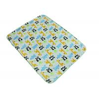 China Soft Christmas Gift Polyester Baby Blanket / Baby Knitted Blanket Panda Pattern on sale