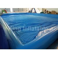 Giant Rectangular 20 X 15m Inflatable Swimming Pools Durable And Airtight Manufactures