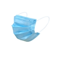 China disposable personal care black protective air pollution face mask with earloop on sale