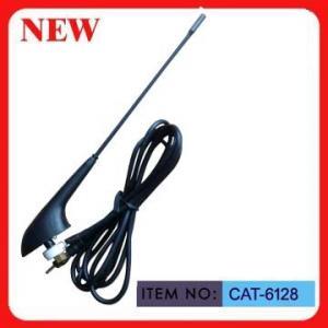 M5 Screw Cap Roof Mount AM FM Car Antenna Glass Fiber Mast For Minibus Microbus