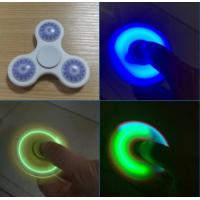Cheap Shinny LED Hand Spinner With 608RS Bearing Fidget Light Hand Spinner Toys for sale