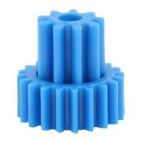 Double Gears High Precision Gears Of Plastic Gear Moulding In Blue Color Manufactures