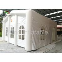 Outdoor White 6X5m Inflatable Event Tent For Wedding 1 Years Gurantee Manufactures