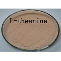 China L Theanine Natural Plant Extracts 3081 61 6 Brown Powder Blood Pressure Reducing on sale
