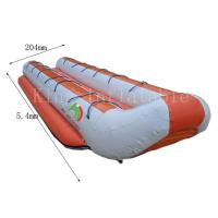 Customized Double Row Inflatable Banana Boats 5.4 *2.04 m 14 Seats Manufactures