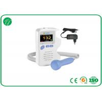 1bpm FHR Resolution Baby Heartbeat Doppler For Home / Clinic / Hospital Manufactures