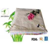 """Quality Eco Friendly Design Bamboo Baby Wipes With Double Terry Layer 25*25cm / 10""""*10"""" for sale"""