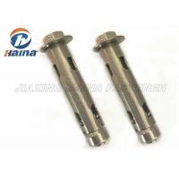 Cheap Customized stainless steel anchor bolts A2-70 304 Sleeve Anchor Bolts with Washer for sale