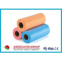 Yellow Red Blue Wavy Line Printed Non Woven Roll for Agriculture , Bag Use Manufactures
