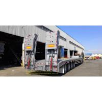 Low Bed Heavy Duty Semi Trailers trailer 3Axle 60T Transporter Manufactures