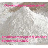 White Raw Steroid Powders CAS434-07-1 Oxymetholone Anadrol For Muscle Gain Manufactures