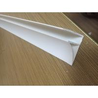 4CM Glossy Extruded Plastic Profiles Top Clip For Room Roof Garden Drainage Board Manufactures