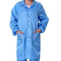 Safety ESD Anti Static Clean Room Garments For Optical Production Workshop Manufactures
