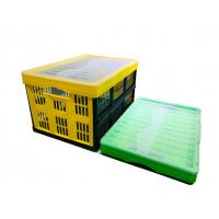 ISO Stacking Plastic Storage Crates Customized PP Plastic Box Foldable Manufactures