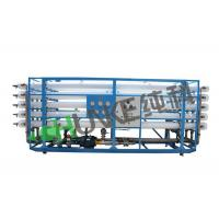 China RO Water 100 T/H Seawater Desalination Big Equipment For Reverse Osmosis Filters Commercial Alkaline filtration plant on sale
