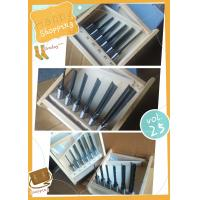 6 Pieces 16mm Shank Left Hand Rotataion 6 Piece Mortising Bit Sets For Woodworking Manufactures