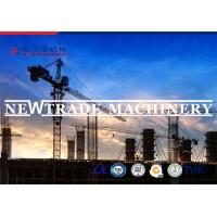 40m Height Technical Team Service Construction Tower Crane TC5013 6 Tons 50m Span Manufactures