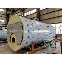 Horizontal Natural Gas Hot Water Boiler Heating Systems For Washing Industry Manufactures