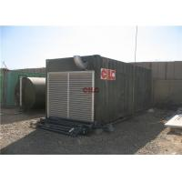 Shower Sanitary Shipping Container House Construction With Electric Generator Manufactures