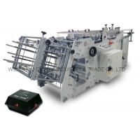 Disposable Fast Food Box Making Machin Full Automatic 120 - 180 PCs / min Manufactures
