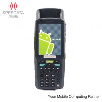 Wifi 3G Portable Data Collector , IP65 Waterproof PDA Barcode Scanner Manufactures