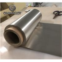 0.05mm 0.08mm Thickness Pure Nickel Foil N4 N5 N6 For Battery / Electronic Part Manufactures