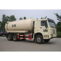 6×4 Drive Type Sewage Suction Truck With Pump With Hydraulic Control System Manufactures