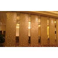 China Function Hall Top Suspended Acoustic Partition Wall Panel Standard Thickness 65mm 80mm 100mm on sale