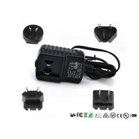 5V 1A 2A 12V 1A Detachable Plug Interchangeable Power Adapter CE FCC UL GS EAC Certificate Manufactures