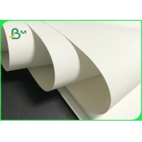 Waterproof 120g - 300g White Color Stone Paper For Advertising Printing Manufactures
