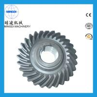 Precision Forging OEM Spring Helical Spiral Bevel Gear Customized 20 Degree