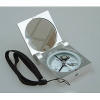 Silver Color Survey Instruments' Accessories Geology Metal Handheld Compass Manufactures