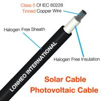 Photovoltaic Cable (Solar Cable) TUV Certificate  PV Cable PV1-F Manufactures