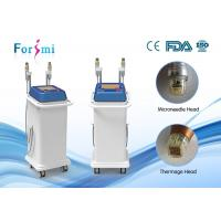 5MHz Fractional RF microneedle machine two handles for any skin treatment Manufactures