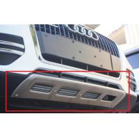 Silver Car Front Bumper Protector / Steel Bumper Guard For SUV