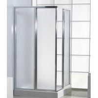 """Satin Frosted Shower Tempered Glass 1/4"""" Easy Cleaning Safety Corners Manufactures"""